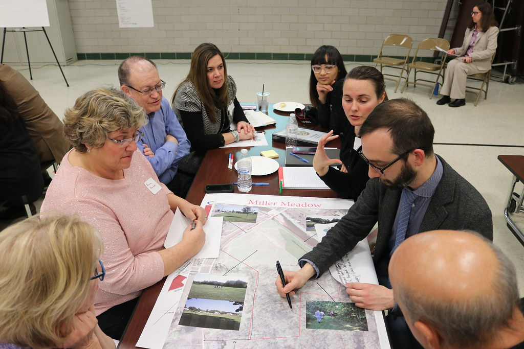 Planning Meeting reivewing a plan